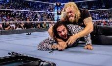 WWE: ايدج الغاضب يقرر اعلان الحرب على رولنز