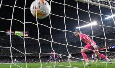 اخطاء وقع فيها حارس فالنسيا منحت برشلونة الفوز