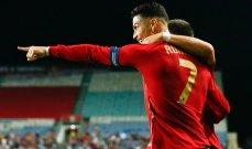 رونالدو فخور بالرقم القياسي الذي حقّقه أمام قطر