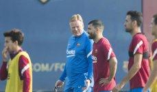 برشلونة يعلن عودة اغويرو في مواجهة فالنسيا