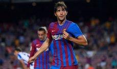 برشلونة يقترب من تجديد عقد روبرتو