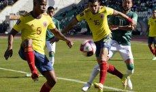 تصفيات أميركا الجنوبية: تعادل كولومبيا والاوروغواي وفوز الاكوادور