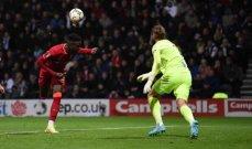 حارس بريستون اخطأ بالهدف الثاني امام ليفربول