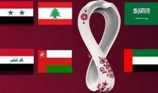 خاص: اوضاع المنتخبات العربية في تصفيات آسيا لكأس العالم