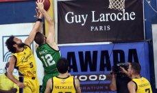 سلة لبنان: 289 نقطة للرياضي مقابل 216 نقطة للحكمة في سلسلة مواجهاتهما