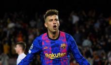 بيكيه الهداف الاكبر سنا مع برشلونة في دوري الابطال