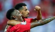 الدوري الاماراتي: شباب الاهلي وصيفا بعد الفوز على الجزيرة