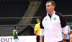 مدرب صالات المغرب : كنا ندا للمنتخب البرازيل وخرجنا بشرف