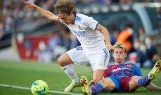 مودريتش سعيد لخوض المباراة رقم 400 مع ريال مدريد