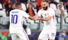 دوري الامم الاوروبية: فرنسا تقلب الطاولة على بلجيكا وتقصيها لتواجه اسبانيا في النهائي