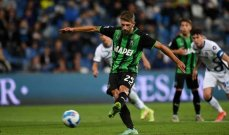 الدوري الإيطالي: ثلاثية لـ ساسولو في مرمى فينيزيا
