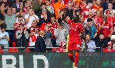 ماني يسجّل الهدف رقم 100 في الدوري الانكليزي الممتاز