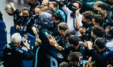 ترتيب الصانعين بعد انتهاء سباق جائزة روسيا الكبرى