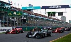 التلقيح الزامي لسائقي الفورمولا 1 في استراليا