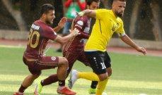 الدوري اللبناني: النجمة ينجو من الخسارة ويعادل البرج في اللحظات الأخيرة