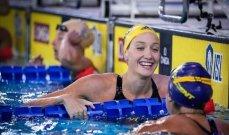 ويلسون السباحة الحائزة على الميدالية الذهبية الاولمبية تدخل المستشفى بسبب كورونا
