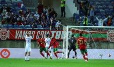 ودية البرتغال-قطر تنتهي بفوز المضيف 3-0