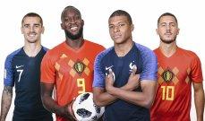 دوري الأمم الأوروبية: الأفضلية لبلجيكا على فرنسا