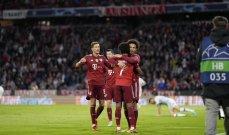 دوري الابطال: بايرن ميونيخ يكتسح دينامو كييف وبنفيكا يعذّب برشلونة وفوز قاتل لليونايتد امام فياريال