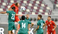 تصفيات اسيا: لبنان يكتفي بالتعادل السلبي امام العراق