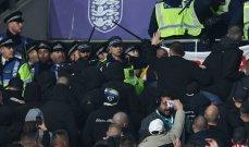 اعتقالات بعد مباراة انكلترا والمجر