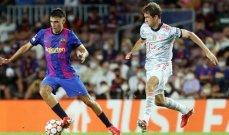 خاص: برشلونة بقي يلعب مع طيف ميسي والبايرن استفاد من الوضع