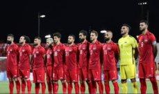 منتخب سوريا بصفوف مكتملة قبل مواجهة لبنان