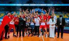 تونس تحتفظ بلقب بطولة افريقيا للكرة الطائرة