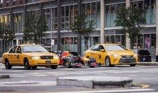 سيارة رد بُل في شوارع نيويورك