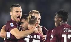 الدوري الايطالي: تورينو يزيد من معاناة جنوى ويتخطاه بثلاثية