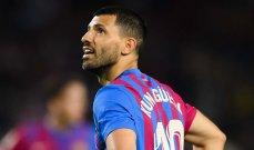 اغويرو: رفضت ارتداء قميص رقم 10 في برشلونة