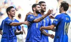 إحصاءات مباراة إيطاليا وبلجيكا