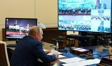 بوتين للرياضيين الروس: نتمنى لكم الانتصارات