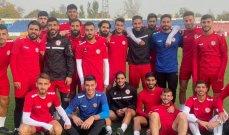 تشكيلة المنتخب اللبناني لمواجهة ايران تحت 23 عاما
