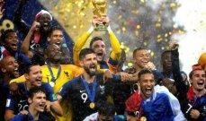 تموز : مونديال روسيا فرنساوي ، رونالدو الى اليوفي ، الاندية الاوروبية تستعد للموسم الجديد