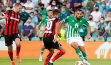 الدوري الاوروبي: تعادل ليفركوزن وبيتيس وفوز براغا وتعادل لاتسيو ومارسيليا