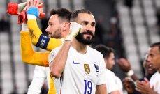 بنزيما افضل لاعب في نهائي دوري امم اوروبا