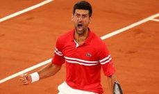 90 اسبوعاً لديوكوفيتش في صدارة تصنيف لاعبي كرة المضرب