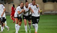 كأس العرب للسيدات: مصر تهزم لبنان برباعية