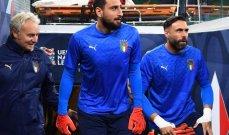 دوناروما إنهار بين شوطي المباراة أمام إسبانيا بسبب الصافرات