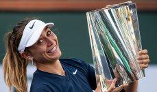 باولا بادوسا تحرز لقب بطولة انديان ويلز
