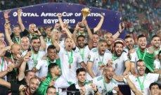 تموز: منتخب الجزائر زعيم أفريقيا، البرازيل بطلة كوبا اميركا، بطولة ويمبلدون من نصيب ديوكوفيتش ومعتوق إلى الأنصار