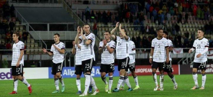 إحصاءات واهم مجريات مباراة المانيا - مقدونيا الشمالية