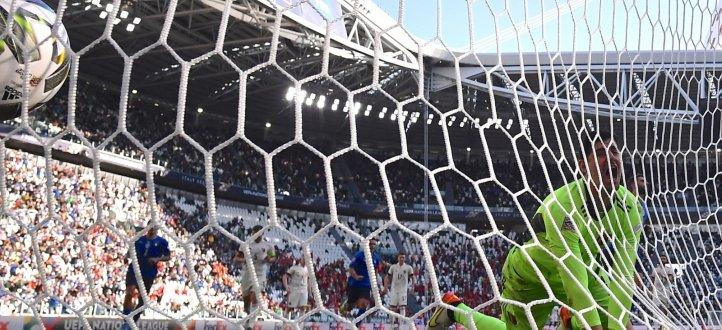 أحداث مباراة إيطاليا وبلجيكا