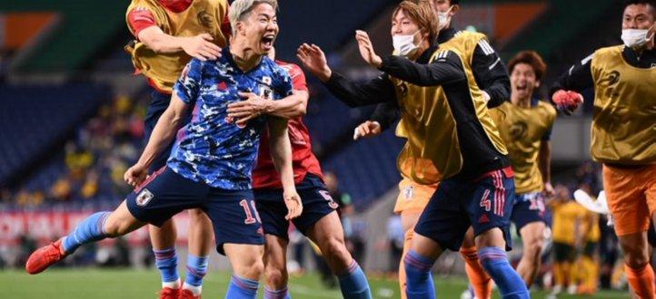 أحداث مباراة اليابان وأستراليا