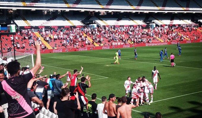 رايو فاليكانو يفوز بثلاثية امام خيتافي