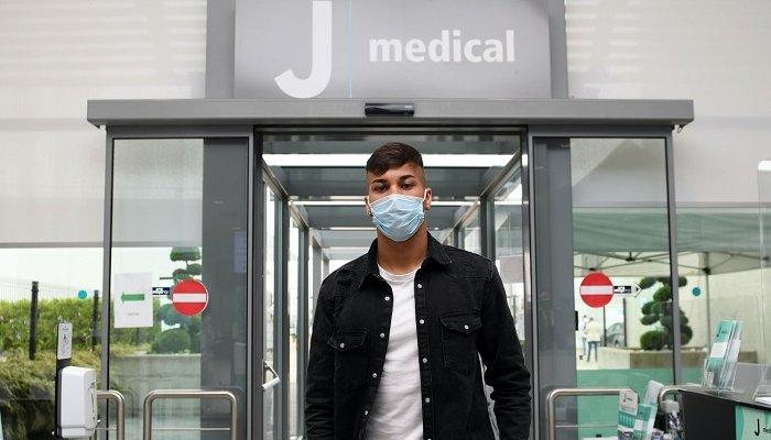 كايو خورخي يجتاز الفحص الطبي في يوفنتوس