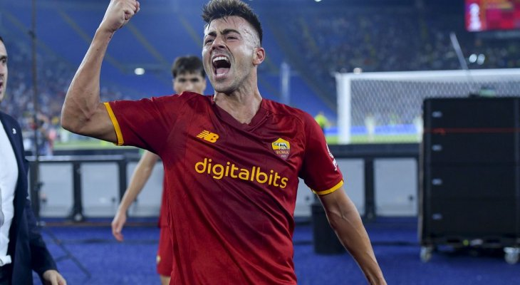 علامات لاعبي مباراة روما وساسولو