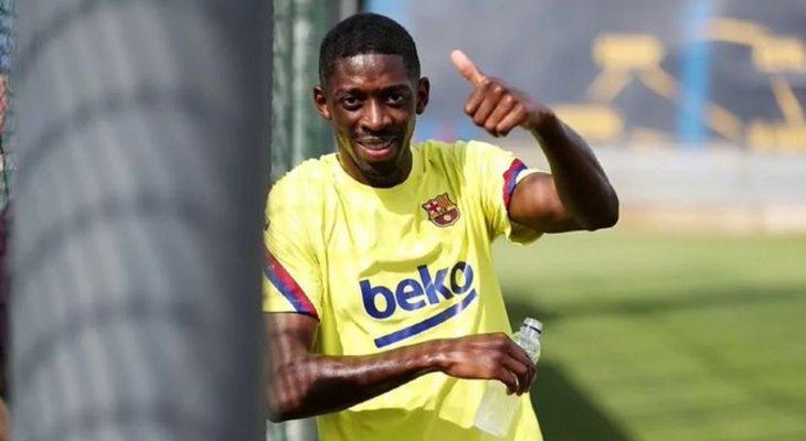 ديمبيلي يحسم مستقبله مع برشلونة