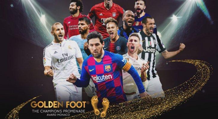 الكشف عن المرشحين لجائزة القدم الذهبية